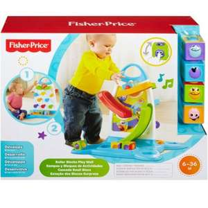 Fisher-Price Roller Blocks Play Wall. £16.99 @ Argos