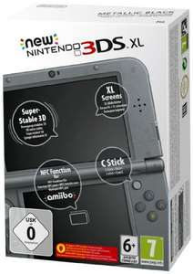 EXPIRED €183.36 delivered (currently £135.63) 'New' Nintendo 3DS XL Black @ Amazon France