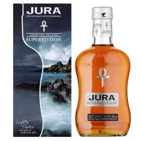 Isle of Jura Superstition Single Malt Scotch Whisky 35cl for £13.00 at Asda