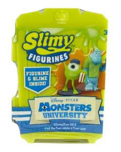 Monsters University Door, Figure & Slime Only 59p @ Home Bargains Instore