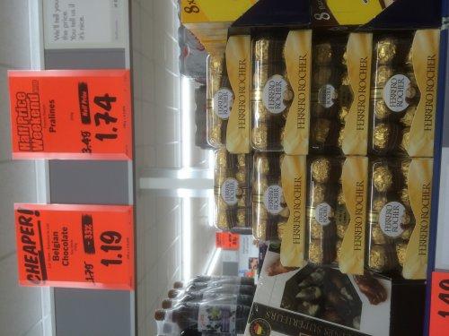 Ferrero Rocher 16 pieces half price £1.74 at Lidl (Branksome)