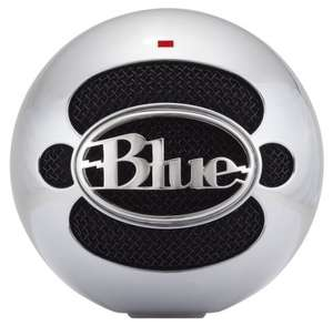 Blue Snowball Microphone (Omnidirectional/Cardioid) £42.99 @ Amazon (Aluminum, Black or White)