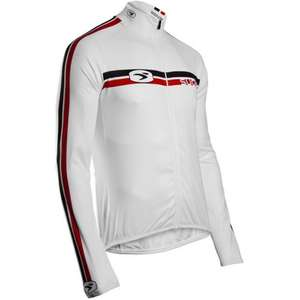 Sugoi Mens Icon Long Sleeve Road Cycling Jersey in White - Small Only £19.99 @ CyclesUK