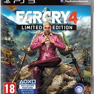 Far Cry 4 (Limited Edition) - PS3 & Xbox 360 - £22 @ Amazon