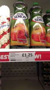 Don Simon juice 1.5L £1.25 @ Heron Foods