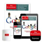 The Economist 12 week subscription for £12 (£1 per week) including Free Bluetooth Speaker @ The Economist