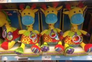 Activity giraffe toy now £3.50 instore @ morrisons