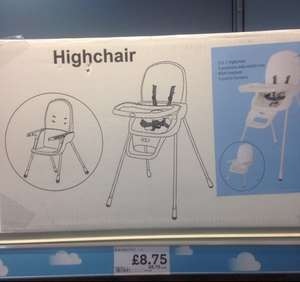 2 in 1 high chair now £8.75 in store @ morrisons