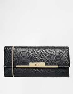 New Look Farah Croc Effect Frame Clutch £12.99 NOW £3.50 @ Asos