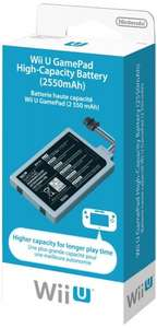 Nintendo Wii U Game Pad High Capacity Battery £16.91* delivered @ Amazon.fr