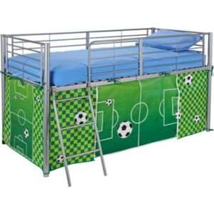 Argos cabin bed/ mid sleeper tents pink blue or football now £6.99