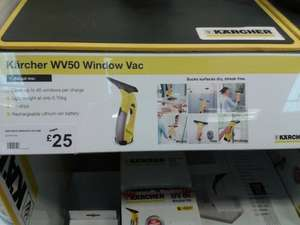 Karcher WV50 window vac £25.00 @ Halfords instore
