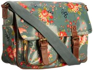SwankySwans  Women's Jasper Florentia Satchel  Vintage Green (Cath Kidson style), Amazon, £8.40 plus £3.49 P&P (£11.89) (free delivery £10 spend/prime)