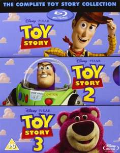 The Complete Toy Story Collection: Toy Story / Toy Story 2 / Toy Story 3 [Blu-ray], £12.60 delivered at amazon