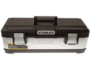 Stanley 195620 Galvanised Metal Toolbox 26-inch, £18.99 from amazon