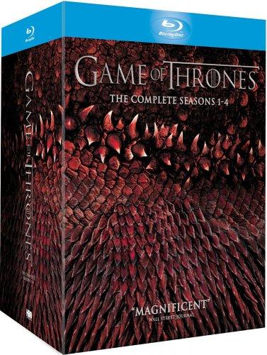 Game of Thrones Season 1-4 blu ray boxset £65 @ Amazon