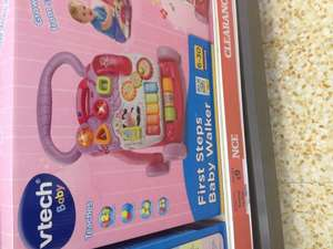 V-tech baby walker reduced to £9 instore at Sainsburys