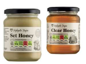 Highgate Fayre honey clear/set 454g £1.35 @ Lidl