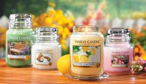 Yankee Candle sale @ YankeeDoodle, Tealights from £3.50 (£5.45 delivered)  Medium Jars £8.50 (£10.45 delivered)