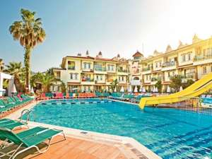 TURKEY FAMILY OF 3 HOLIDAY ALL 3 FOR £319.97 7 nights for a family of 3 price includes return flights baggage and 7 night hotel with good trip advisor reviews, Departing 20 april 2015 from Stansted just £319.97 for all 3 @ Thomascook