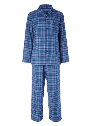 BHS Men's Blue Brushed Cotton Pyjamas £3.60