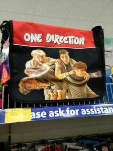 one direction satchel bag 10p at b&m darnley!