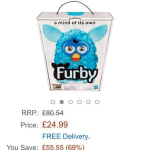 Furby boom only £24.99 Sold by Family Sales Uk and Fulfilled by Amazon