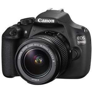 Canon EOS 1200D Digital SLR Camera with 18-55mm & 50mm Lenses £289.99 @ John Lewis
