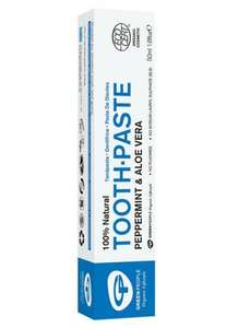 Green people Organic Toothpaste £2.69 delivered at Naturismo