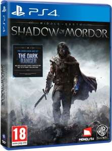 Middle Earth: Shadow of Mordor PS4/XO £22 (PS3/X360 £14) @ Woolworths (Free Collect+)