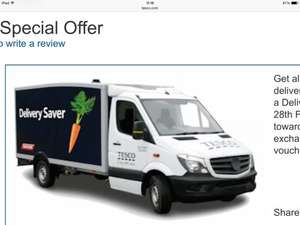 Tesco 1 year delivery saver plan bargain £15 or £7.50 with Tesco boost vouchers (DO NOT OFFER / ASK FOR REFERRAL DELIVERY CODES BY PM OR IN THREAD)