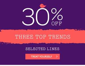 30% off Spring Trends @ Oasis