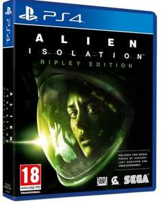 Ps4 Alien isolation Ripley Edition £19.96 @ the coolshop