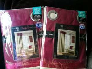 Curtains reduced to £1.00 @ B&M instore