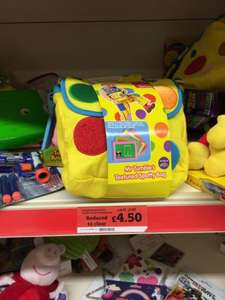 Mr Tumble Spotty Bag @ Sainsbury Instore £4.50