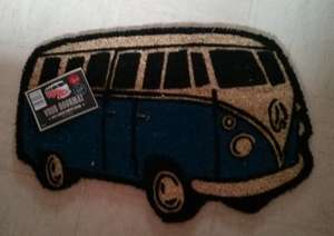Vdub Doormat (£3.99) & Vdub Storage bag £1.79 @ Home Bargains **INSTORE**