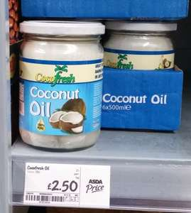 cocofresh Coconut oil  500g £2.50 @ Asda