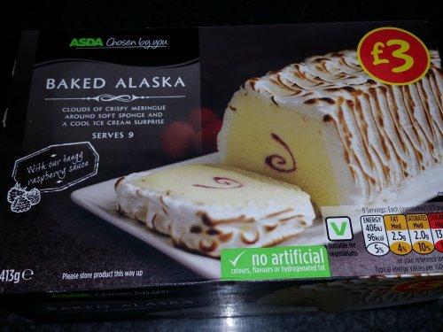 Baked Alaska 75p @ Asda