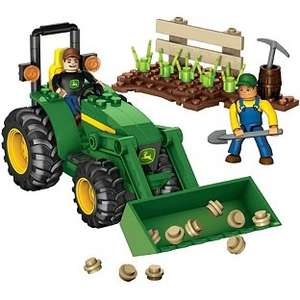 Mega Bloks World Builders John Deere Farm Tractor £3.99 down from £12.99 then £9.99 @ Argos
