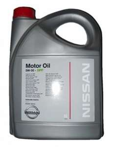 5w30 Genuine NISSAN Low Ash DPF Fully Synthetic Engine Motor Oil 5L for £19.99 at atcarparts/ebay