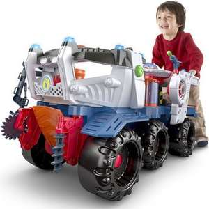 Toys R Us Imaginext Supa Nova Battle Rover Was £119.99 now £89.99 possible £85.49 with Quidco 5% cashback