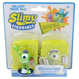 Monsters University Twin pack Slimy Figurines & Doors Only £1 @ Poundland