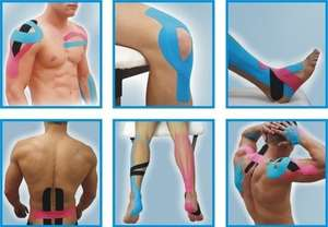 Kinesio tape / Elastic therapeutic tape £1.49 for 5m roll @ savers chemist