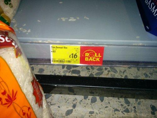 Tilda 10kg Basmati Rice £16 @ Asda