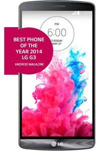 LG G3 16GB Black - £23.49 pcm - £49.99 upfront cost - £563.76 total cost from MobilePhoneShop
