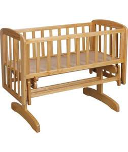 argos kub liska glider crib for £34.99
