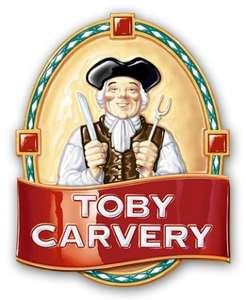 Toby Carvery 2 courses for £6.99/ £7.99 Upgrade Carvery or upgrade pud for free with voucher.
