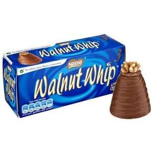 Walnut Whip 3 pack £1 in Tesco