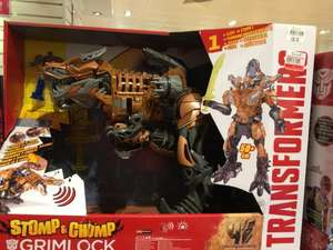 Stomp and chomp Grimlock Transformers @ £60 reduced from 90 instore Fenwick Brent X