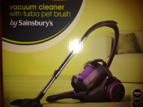 sainsbury's vacuum cleaner £11.99 instore